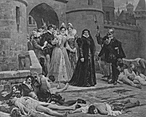 St Bartholomew's Day Massacre Queen Catherine De Medici France French History