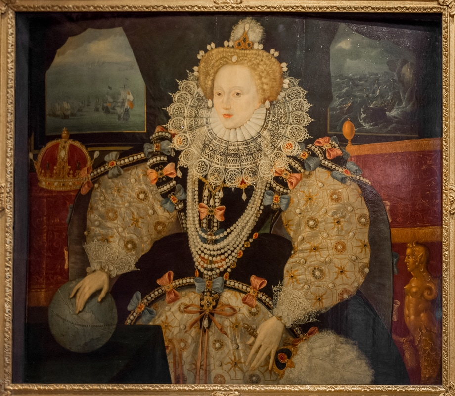 Queen Elizabeth I, Armada Portrait, Drake, Greenwich, Art Fund, James Edward Hughes, JamesEHughesPhotography
